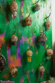 Кулоны с Дикими Необработанными Природными Кристаллами