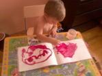 Еремей рисует ветер, 3 года 7 месяцев