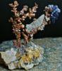 Композиция из кристаллов и минералов