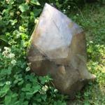 Большой кристалл Дымчатого кварца