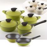 Посуда Frybest серия  Ever Green со встроенной системой паровыпуска