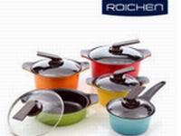 Сковороды, кастрюли, жаровни Roichen с керамическим покрытием Ю.Корея