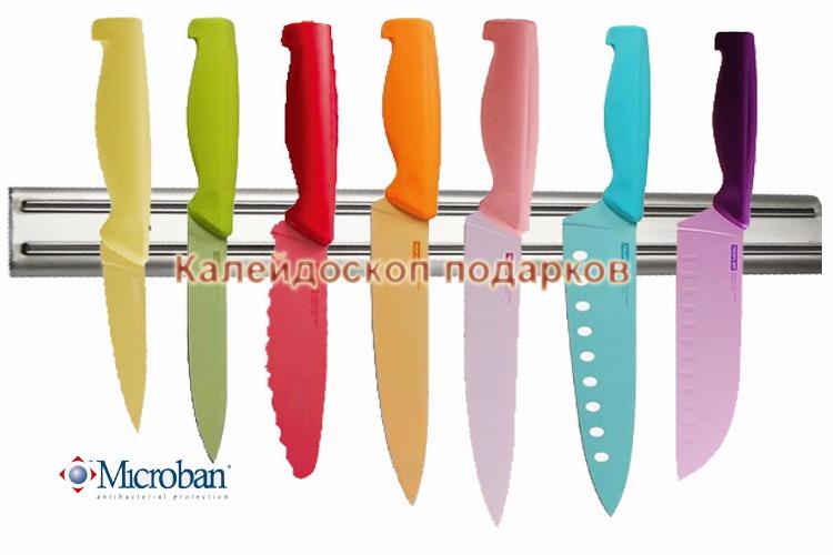 Ножи с антибактериальной защитой  Microban