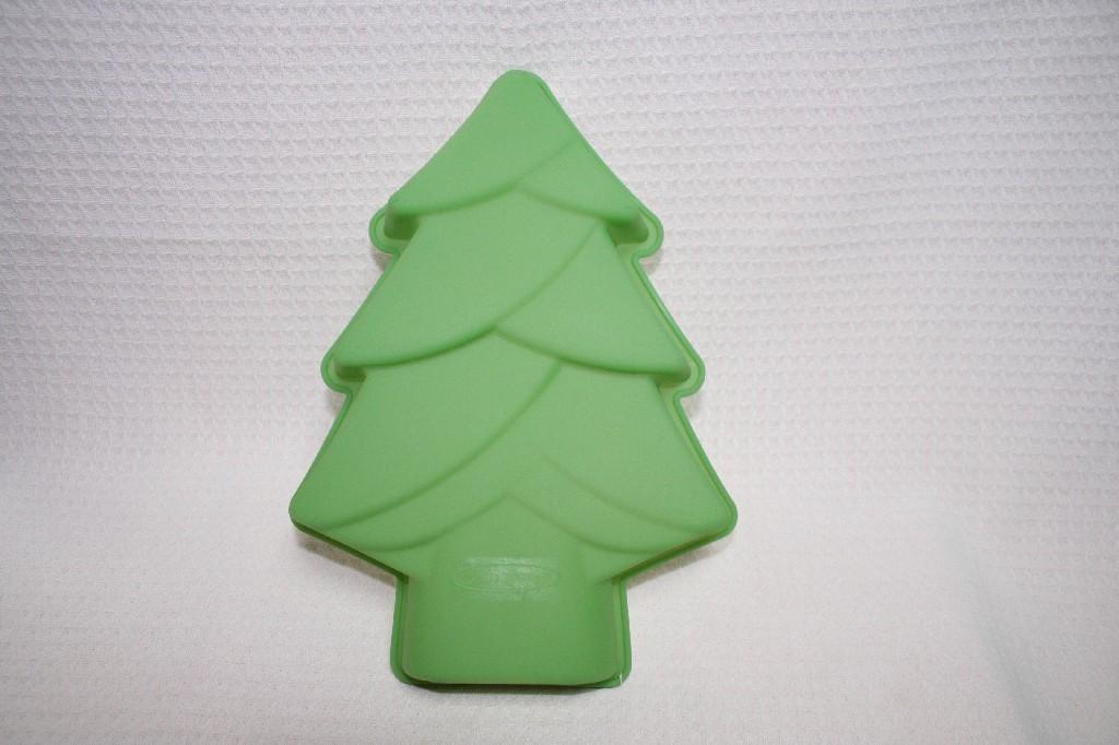 Силиконовая форма для выпечки елка