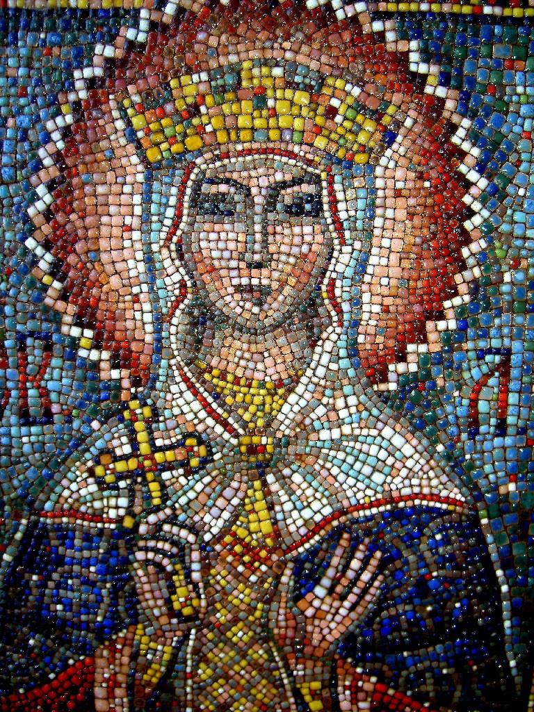 Икона из мозаики своими руками 20